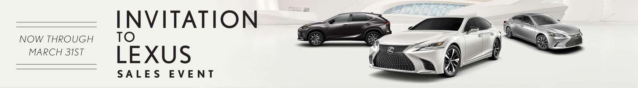 Lexus Sales Event Offers