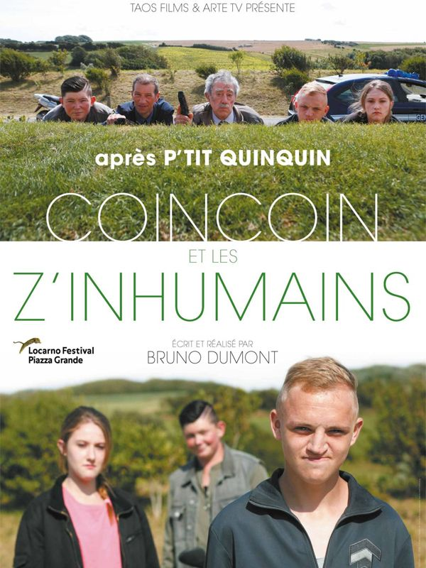 Coincoin et les z'inhumains COINCOIN, ΤΟ ΜΟΥΤΡΟ ΚΑΙ ΟΙ ΑΔΙΣΤΑΚΤΟΙ Poster