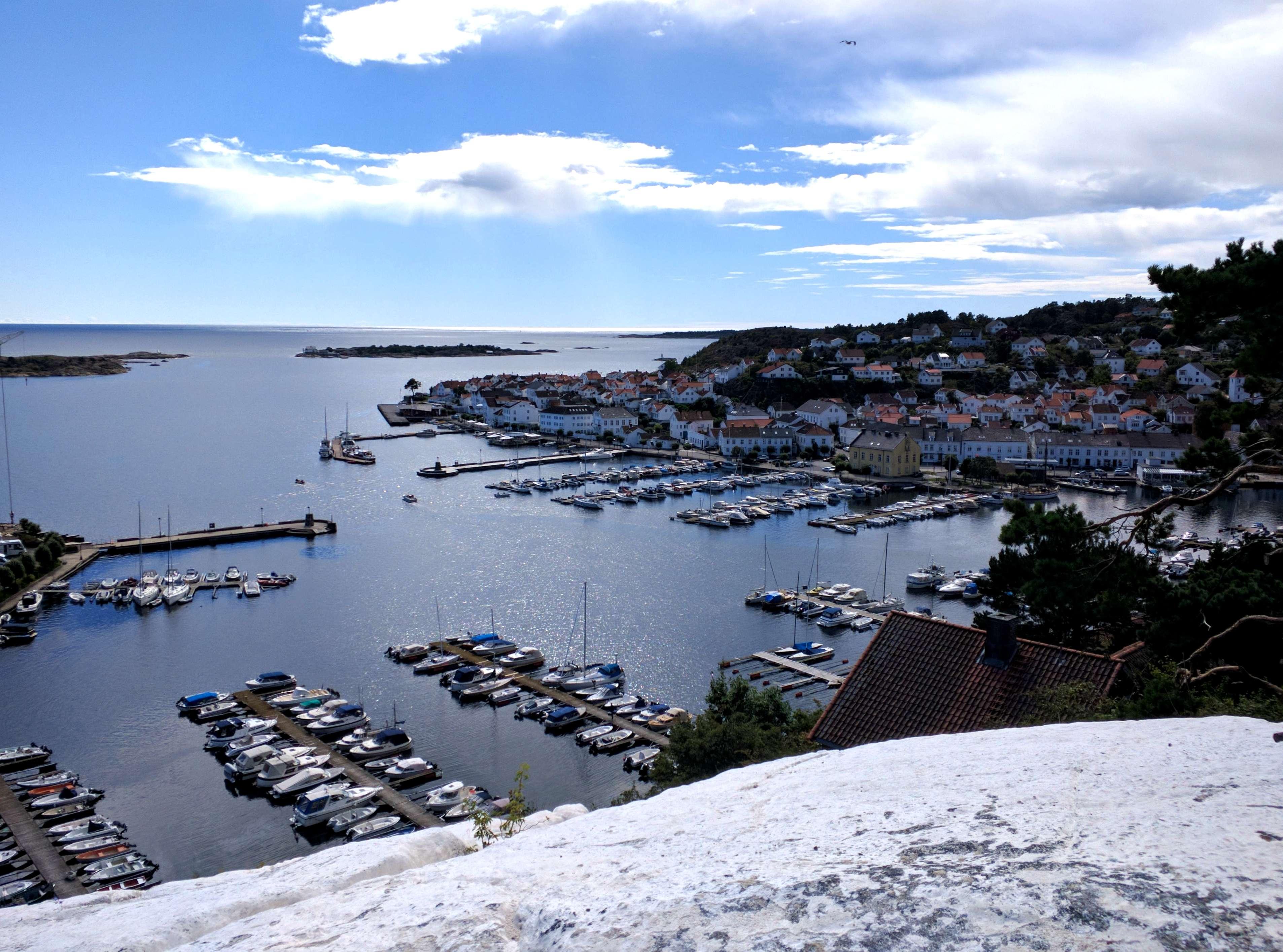The view from Risørflekken