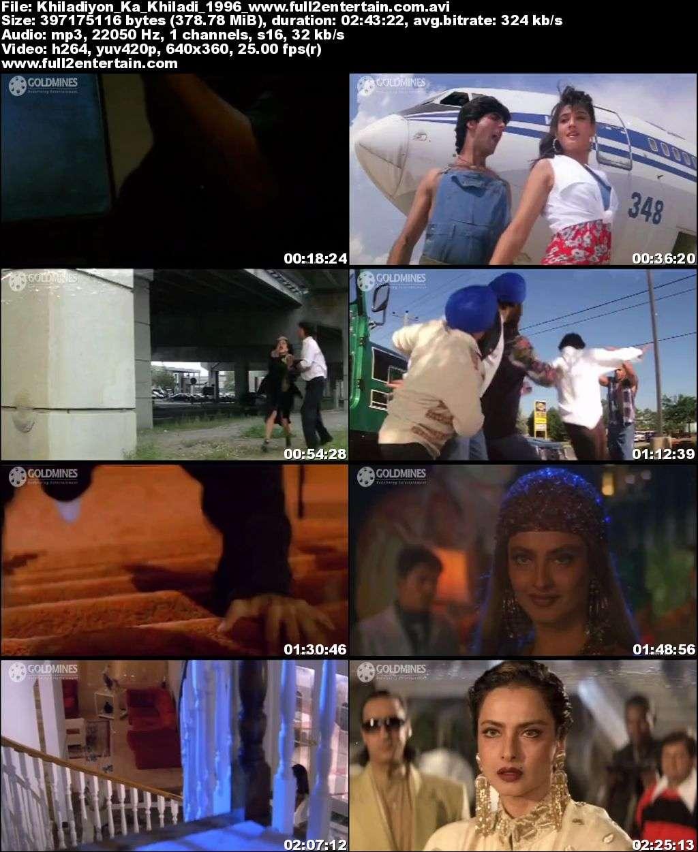 Khiladiyon Ka Khiladi 1996 Full Movie Download Free in Dvdrip 480p
