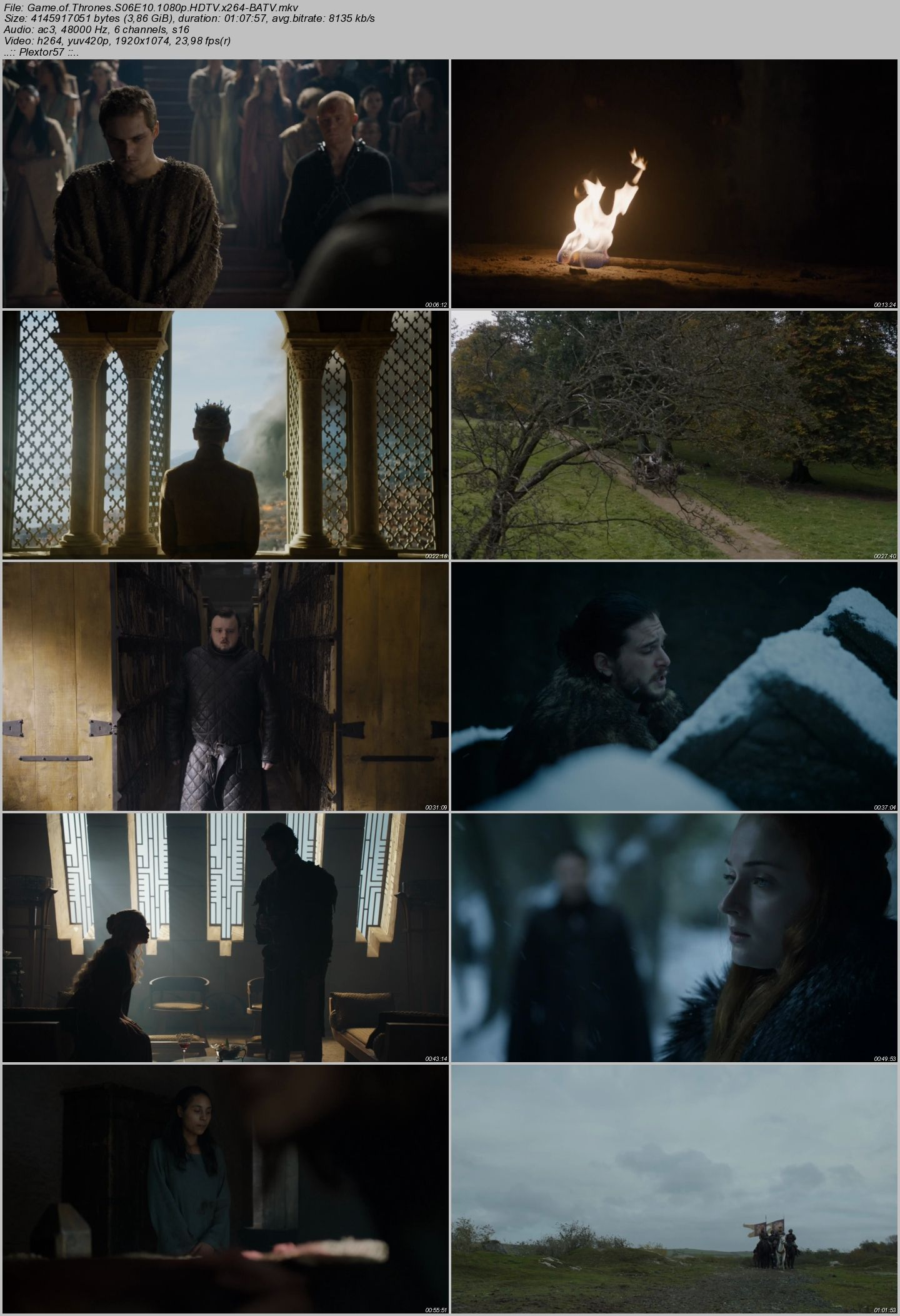 Game of Thrones Tüm Sezonlar 720p