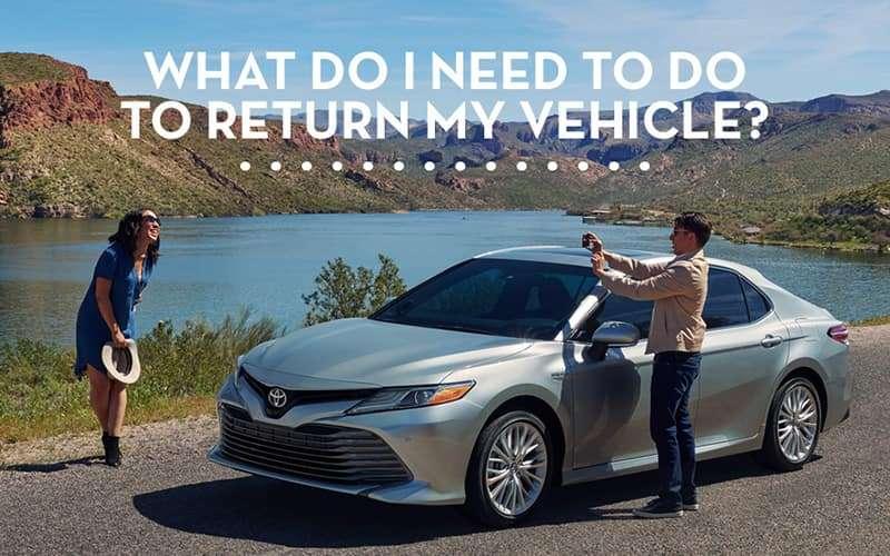 Toyota Lease Return