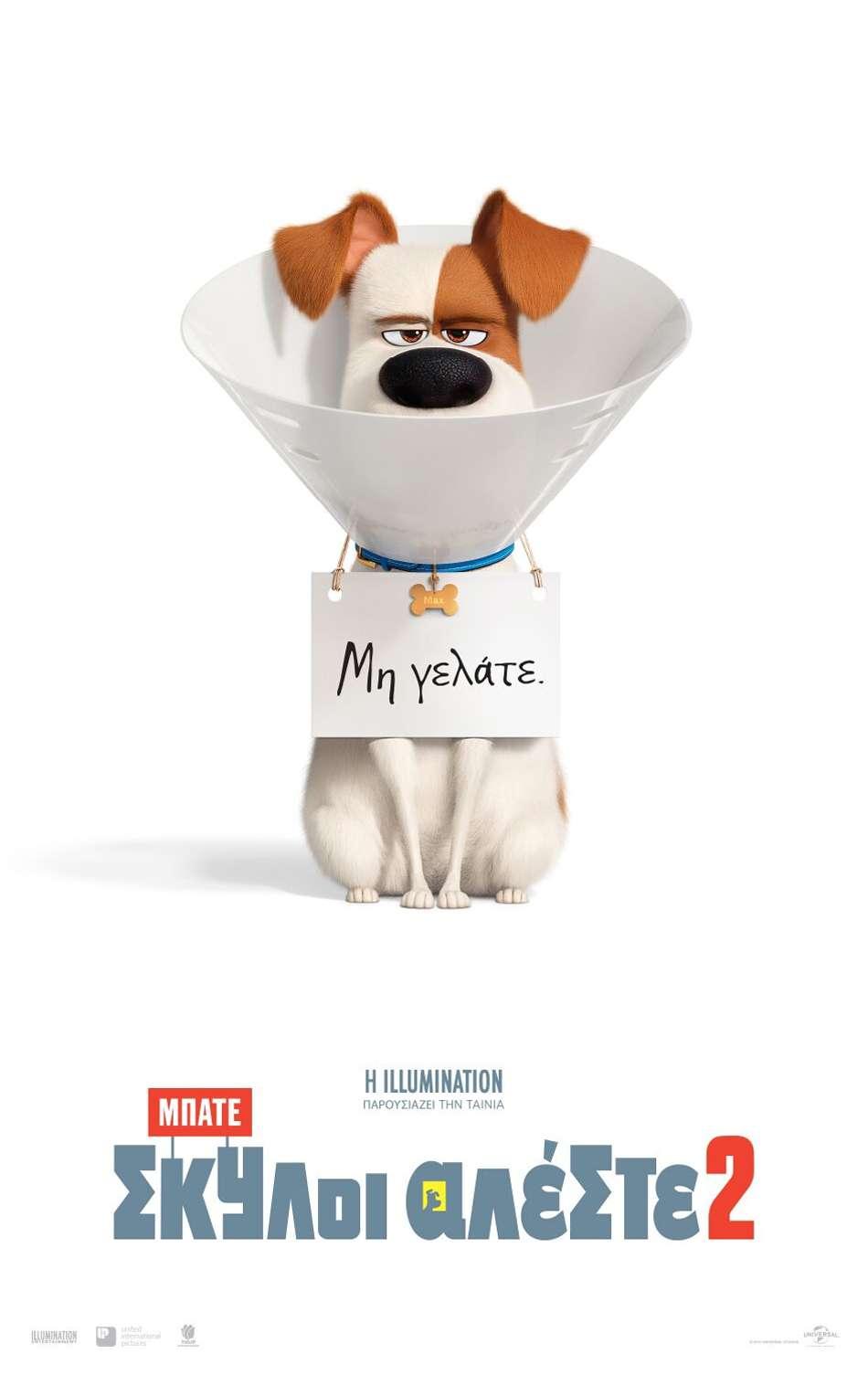 Μπάτε Σκύλοι Αλέστε 2 (The Secret Life of Pets 2) - Trailer / Τρέιλερ Poster