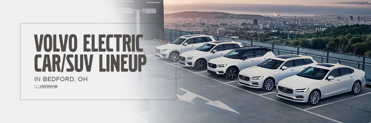 Volvo Electric Car/SUV Lineup at Motorcars Volvo
