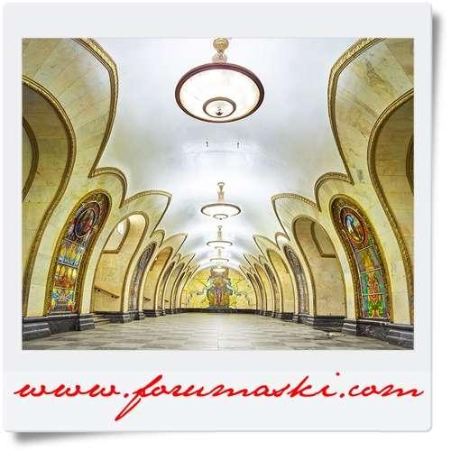 Колобки, открытки метро новослободская