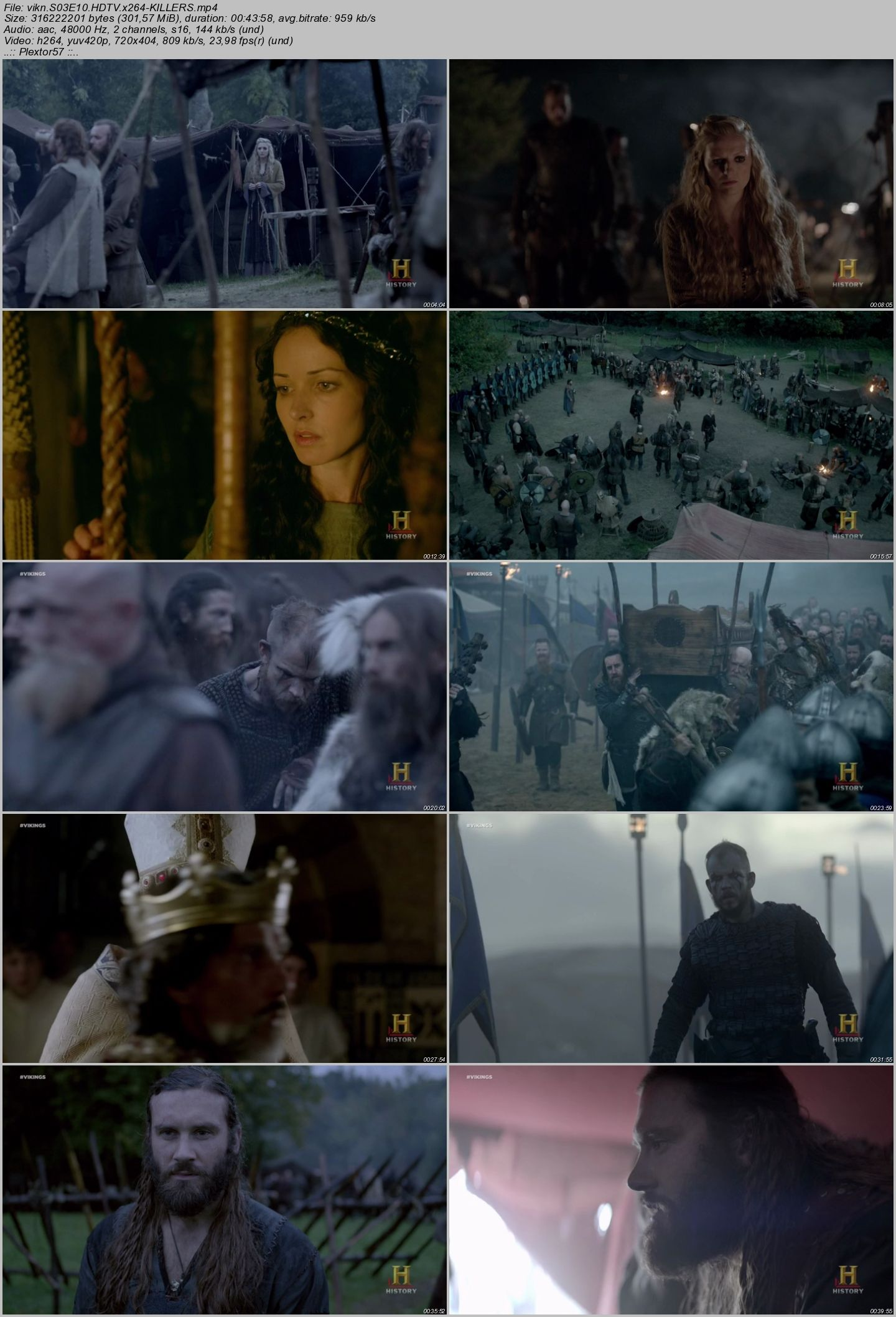 Vikings | 3.Sezon | Tüm Bölümler | HDTV XviD