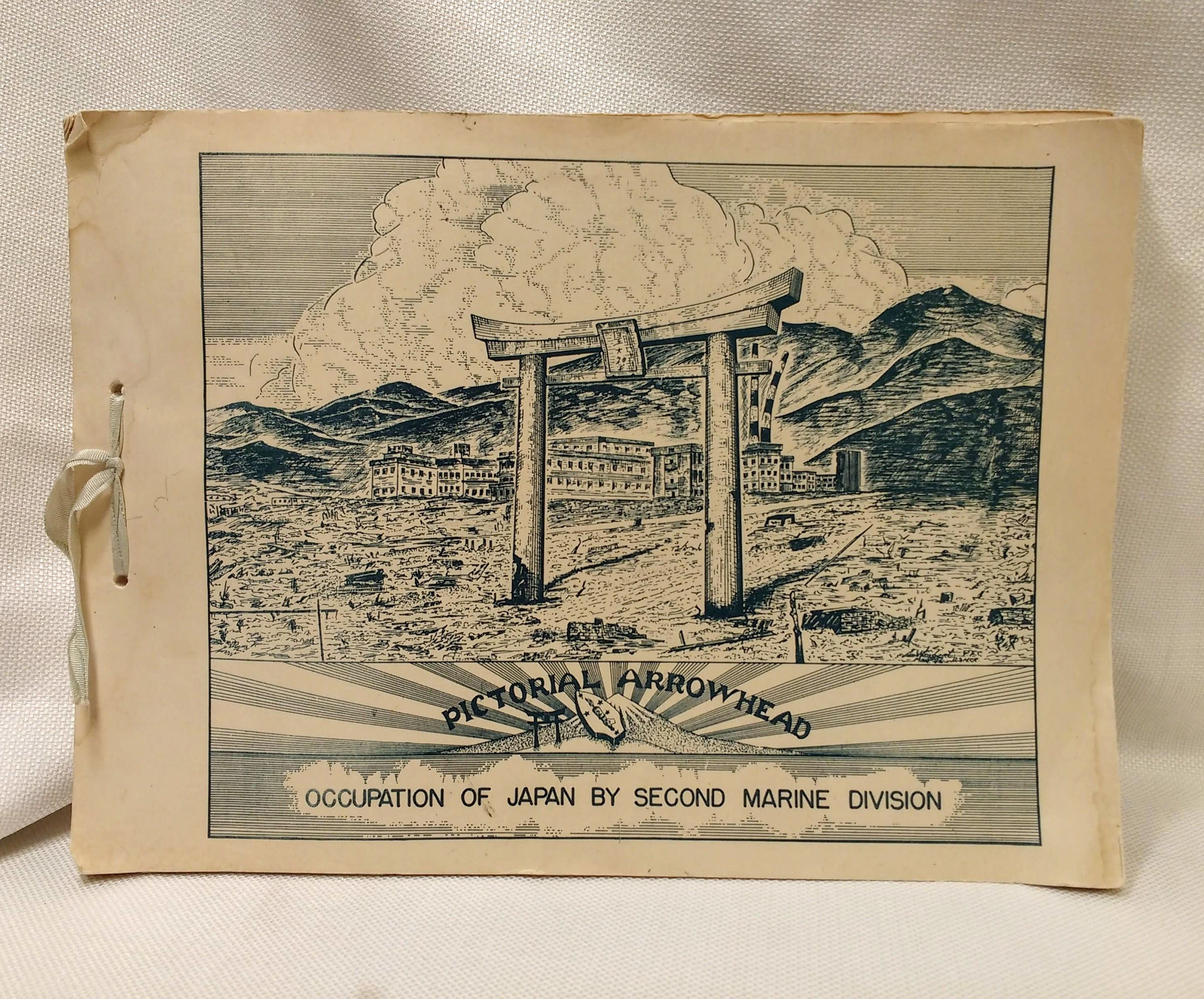 Image for PICTORIAL ARROWHEAD: OCCUPATION OF JAPAN BY SECOND MARINE DIVISION