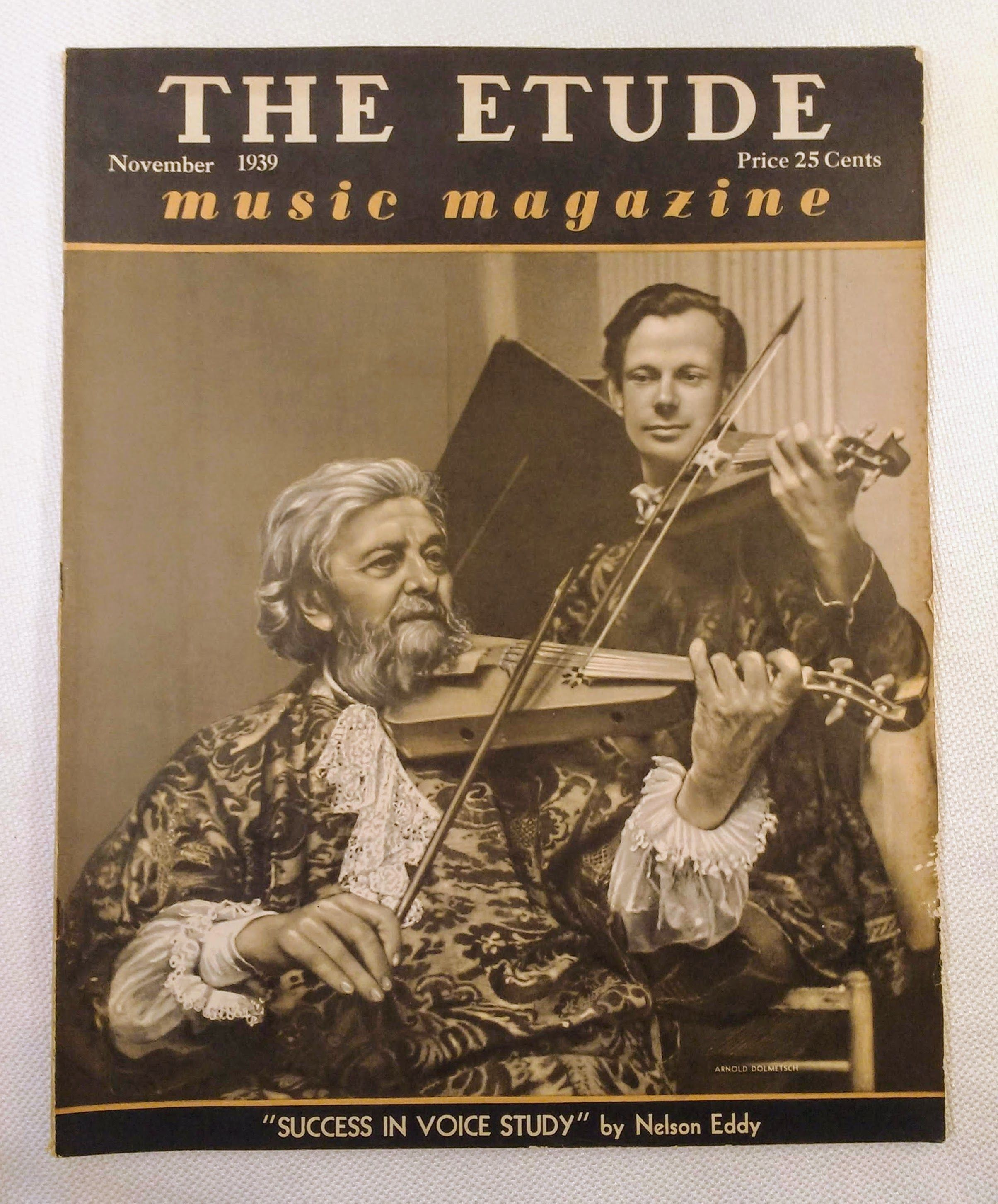Image for The Etude Music Magazine: Volume LVII, No. 11; November, 1939