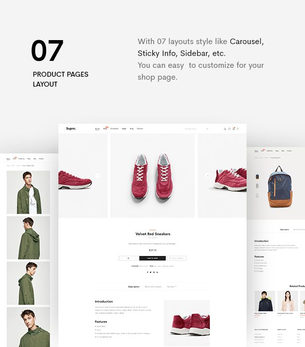 Supro | Minimalist eCommerce PSD Template - 11