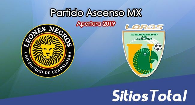 Ver Leones Negros vs Loros de la Universidad de Colima en Vivo – Ascenso MX en su Torneo de Apertura 2019