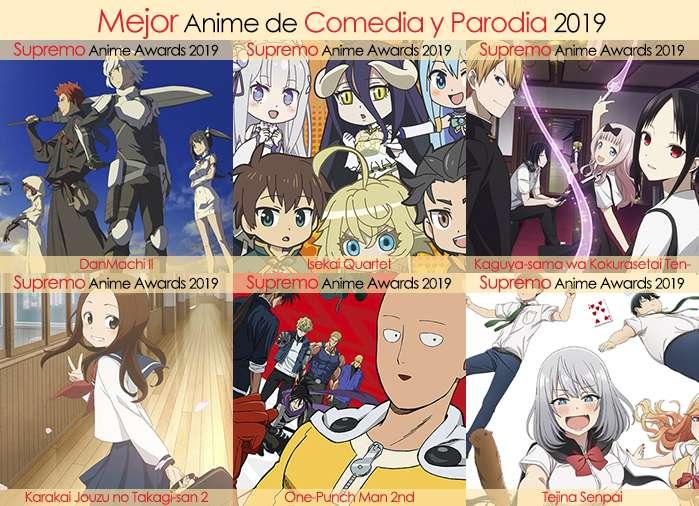Final X Categorias Nominados a Mejor Anime de Comedia y Parodia 2019