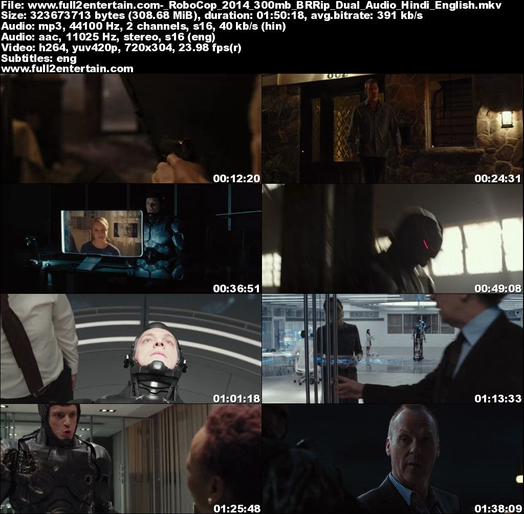 RoboCop 2014 Full Movie Free Download HD 300mb