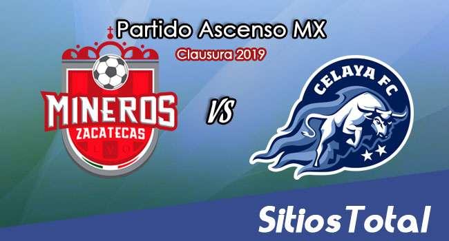 Ver Mineros de Zacatecas vs Celaya en Vivo – Ascenso MX en su Torneo de Apertura 2019