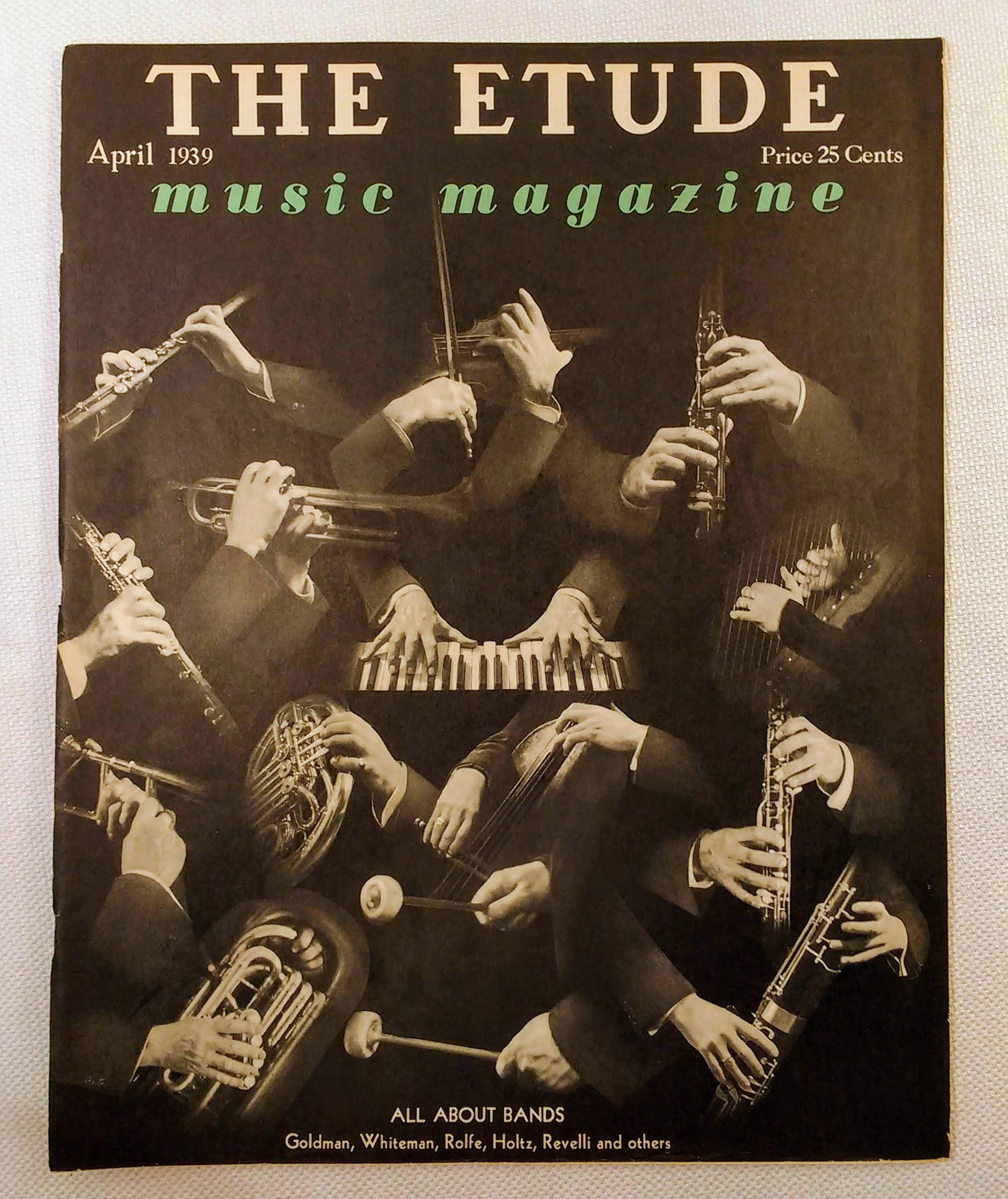 Image for The Etude Music Magazine: Volume LVII, No. 4; April, 1939