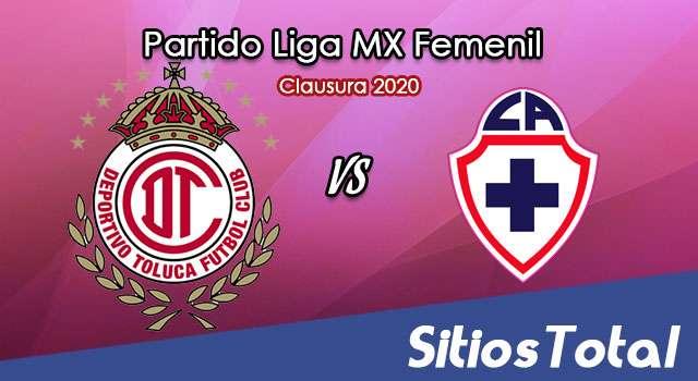 Ver Toluca vs Cruz Azul en Vivo – Liga MX Femenil – Clausura 2020 – Lunes 27 de Enero del 2020