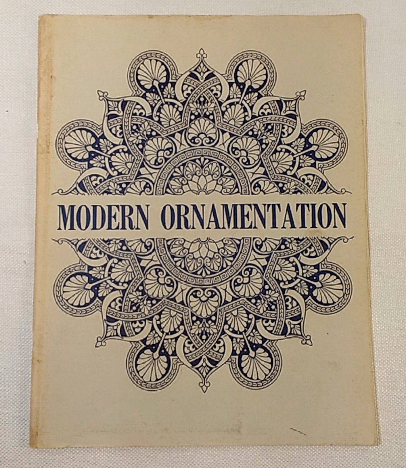 Modern ornamentation: Being a series of original designs for the patterns of textile fabrics, for the ornamentation of manufactures in wood, metal, ... of walls & ceilings and other flat surfaces, Dresser, Christopher