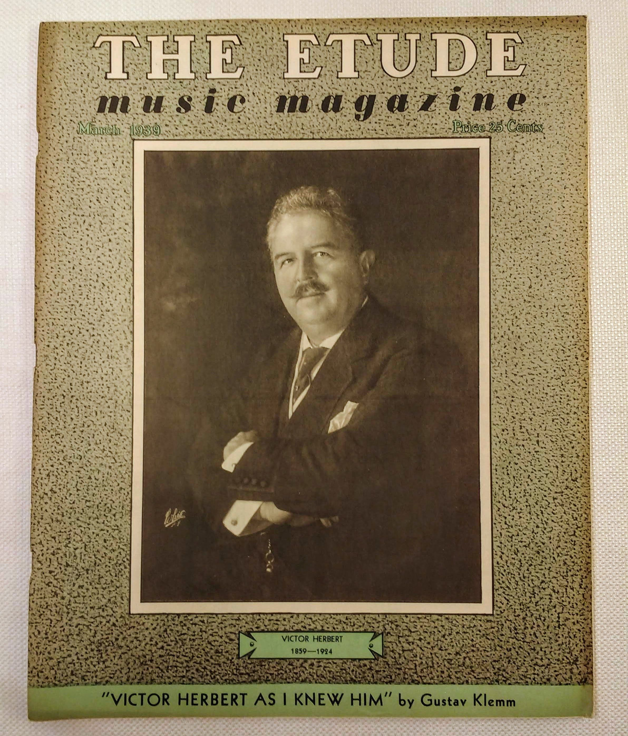 Image for The Etude Music Magazine: Volume LVII, No. 3; March, 1939