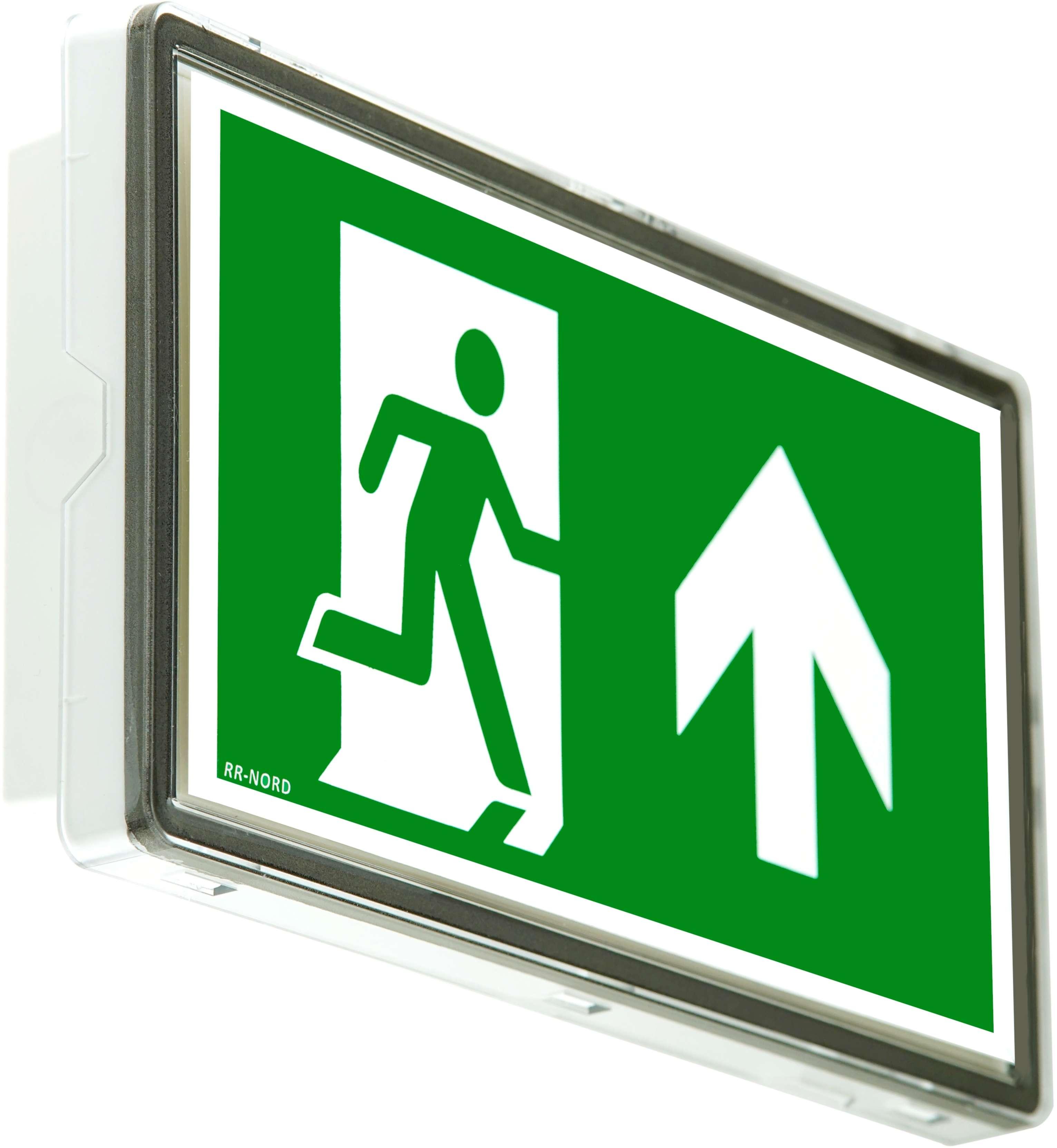 Notleuchte 8Stunden Autotest LED Notbeleuchtung Rettungszeichenleuchte  Notlicht