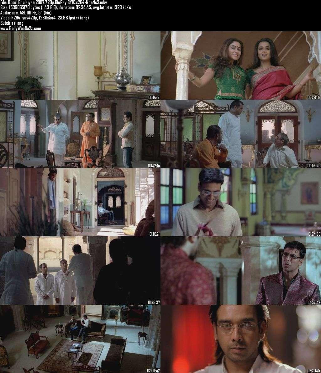 Bhool Bhulaiyaa (2007) 720p - BluRay - x264 - DD5.1-NhaNc3