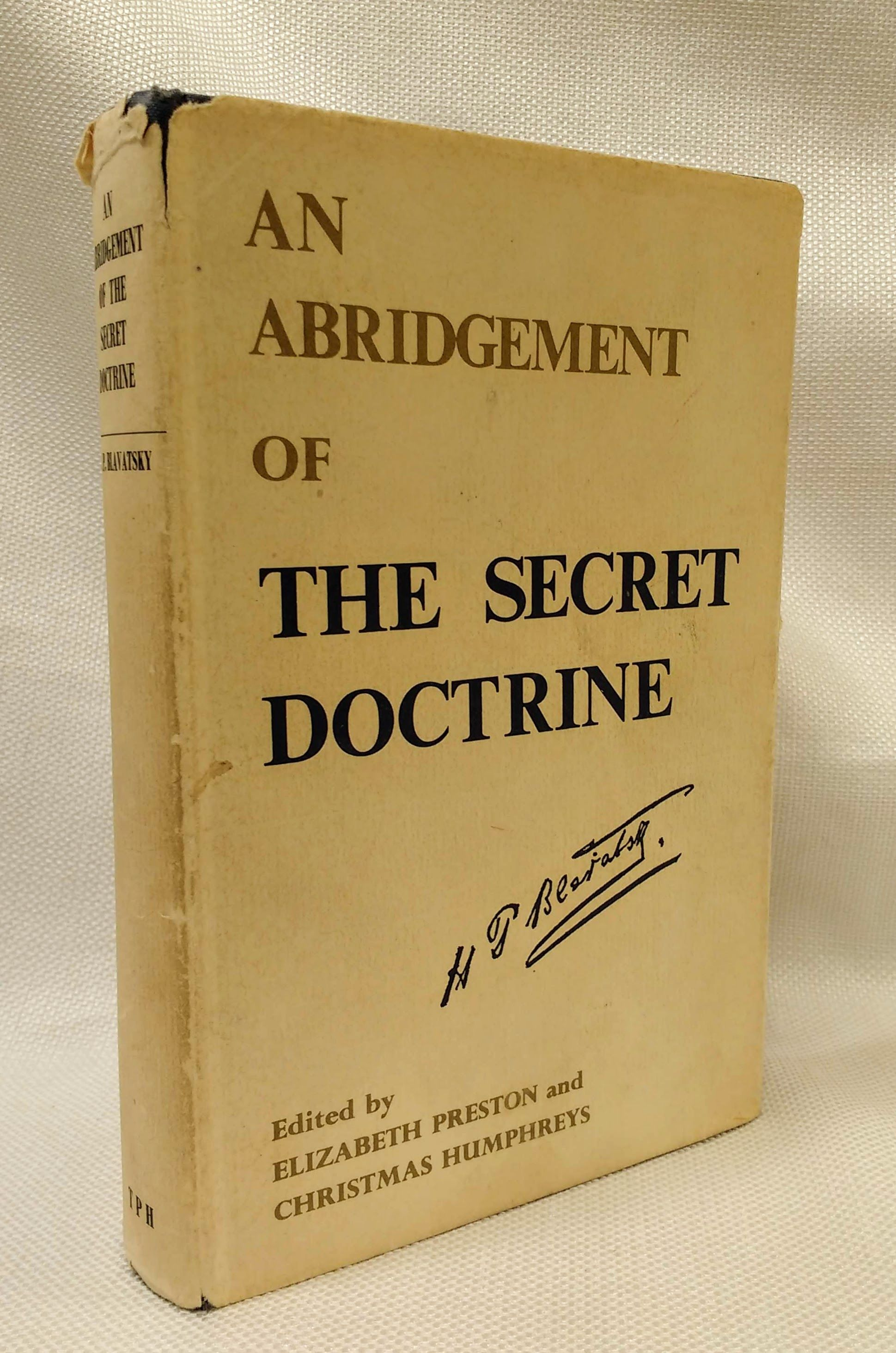 Abridgement of the Secret Doctrine, Blavatsky, Helen P.
