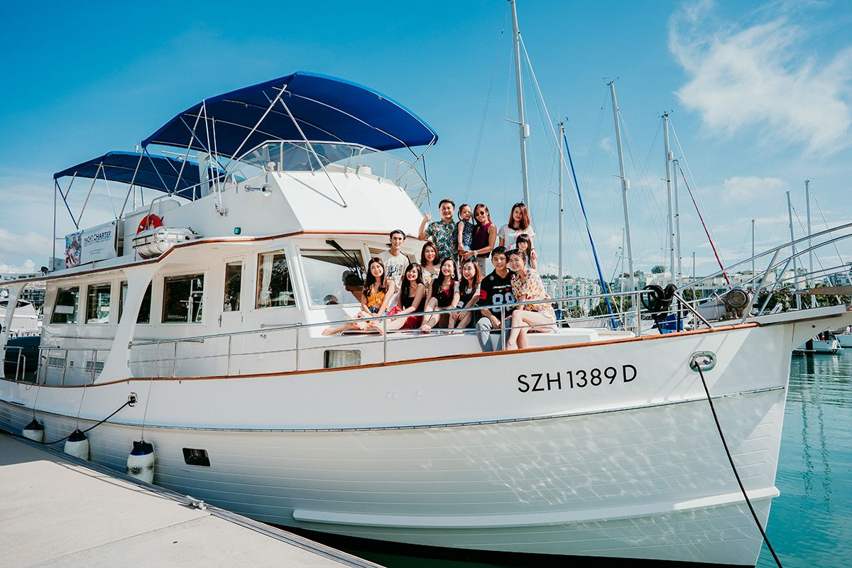 Rent Yacht in Singapore Marina at Keppel Bay Charter