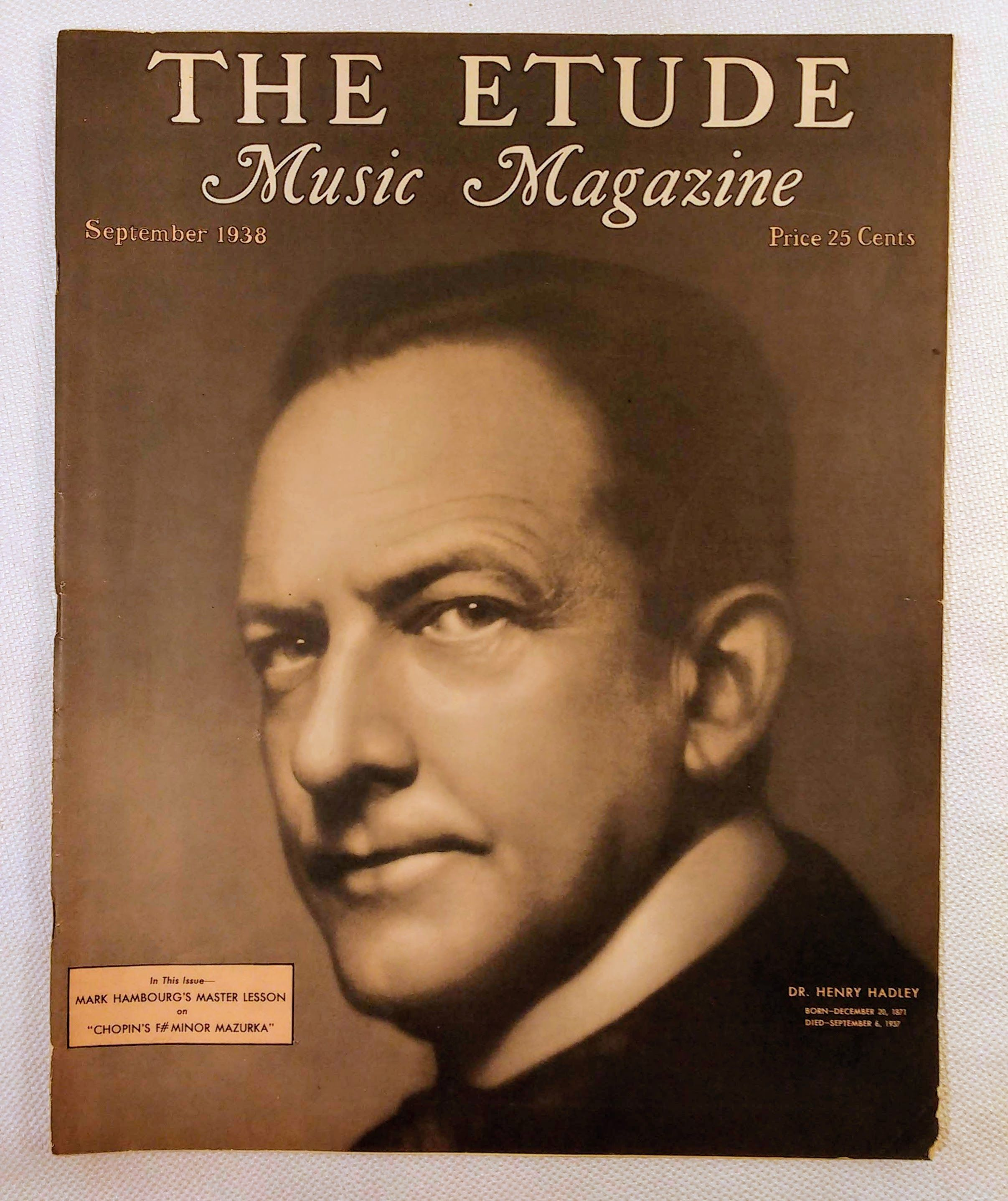 Image for The Etude Music Magazine: Volume LVI, No. 9; September, 1938