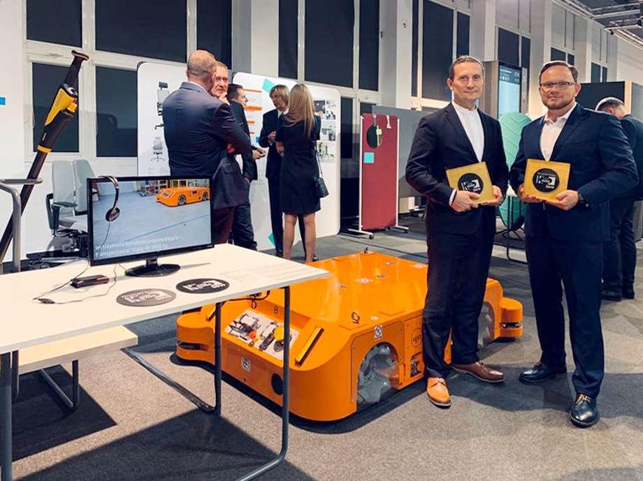 Dwie nagrody wKonkursie Dobry Wzór dla MOBOTa firmy WObit