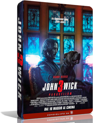 John Wick 3: Parabellum (2019).mkv LD AC3 720p WEBRip UPSCALE - iTA