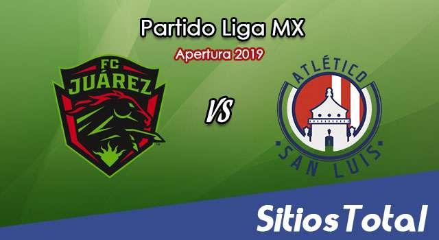 Ver FC Juarez vs Atlético San Luis en Vivo – Apertura 2019 de la Liga MX