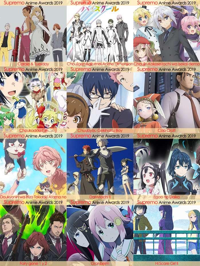 Eliminatorias Nominados a Mejor Anime Seinen 2019