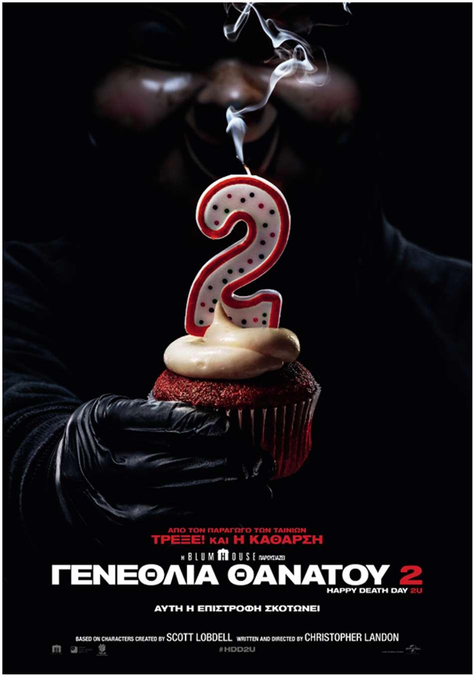 Γενέθλια Θανάτου 2 (Happy Death Day 2U) Poster Πόστερ