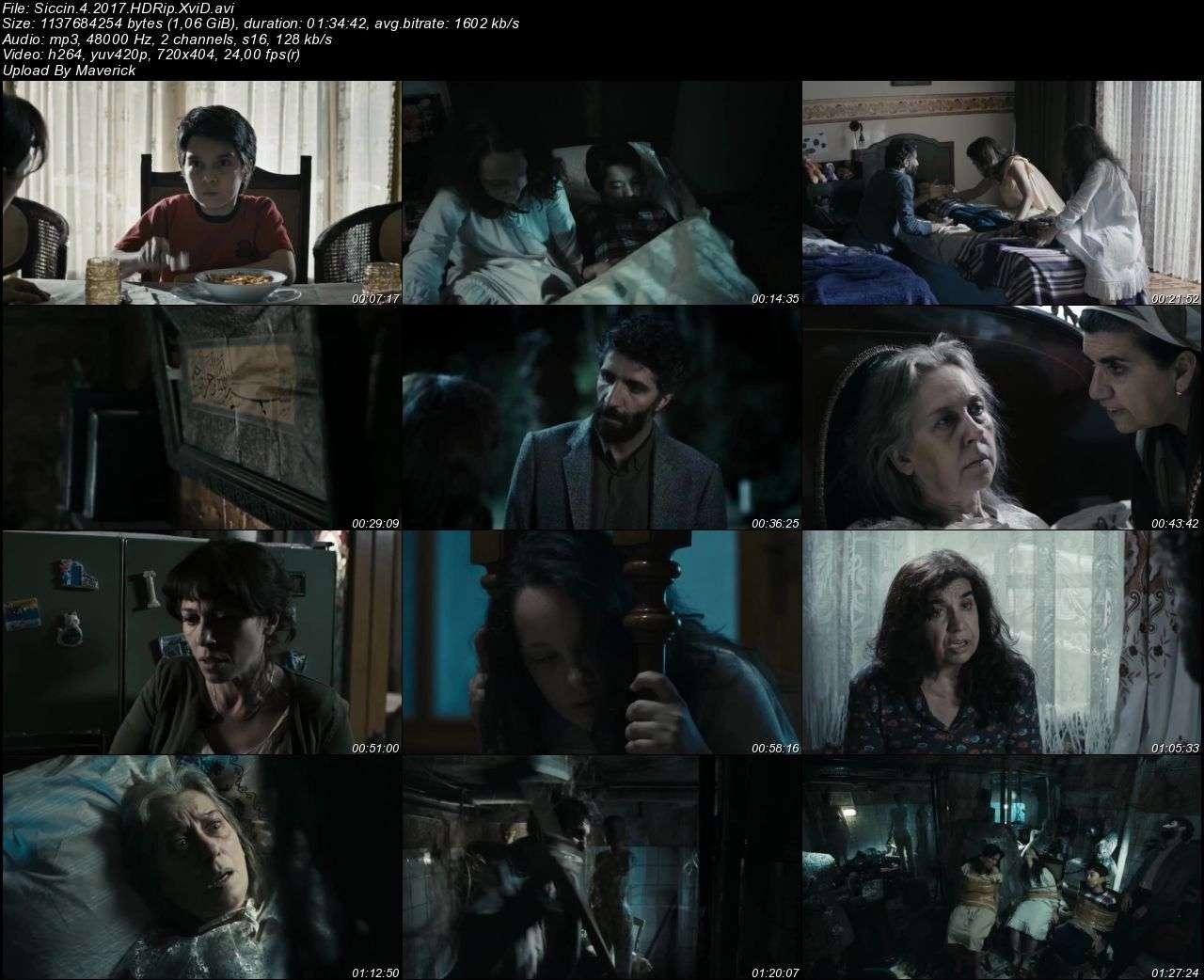 Siccin 4 - 2017 (Yerli Film) HDRip XviD indir