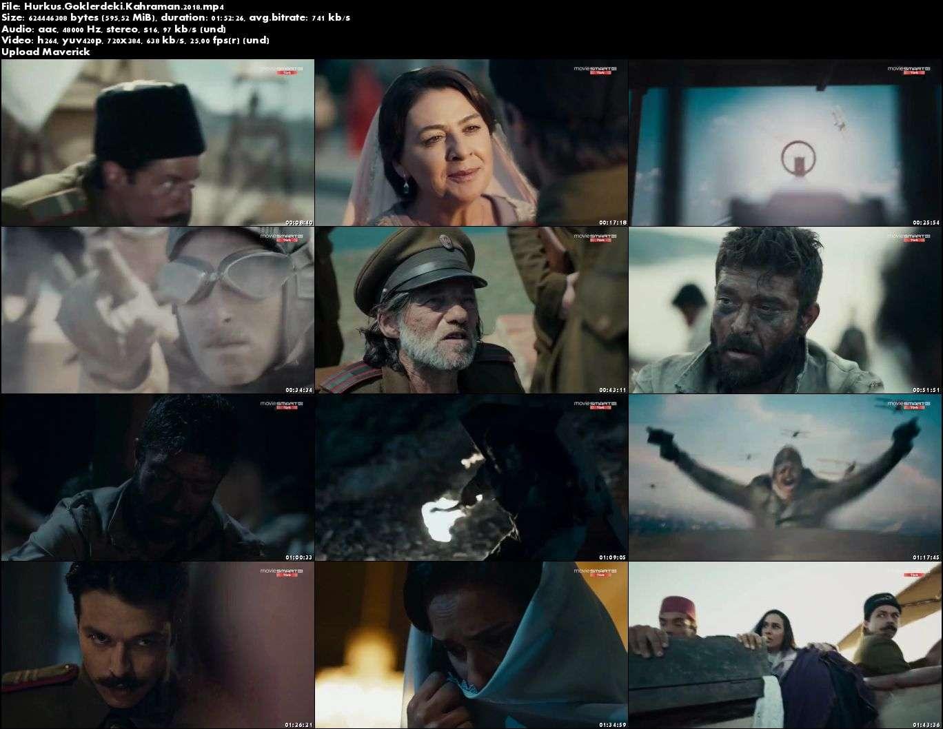 Hürkuş - 2018 (Yerli Film) Mp4 indir
