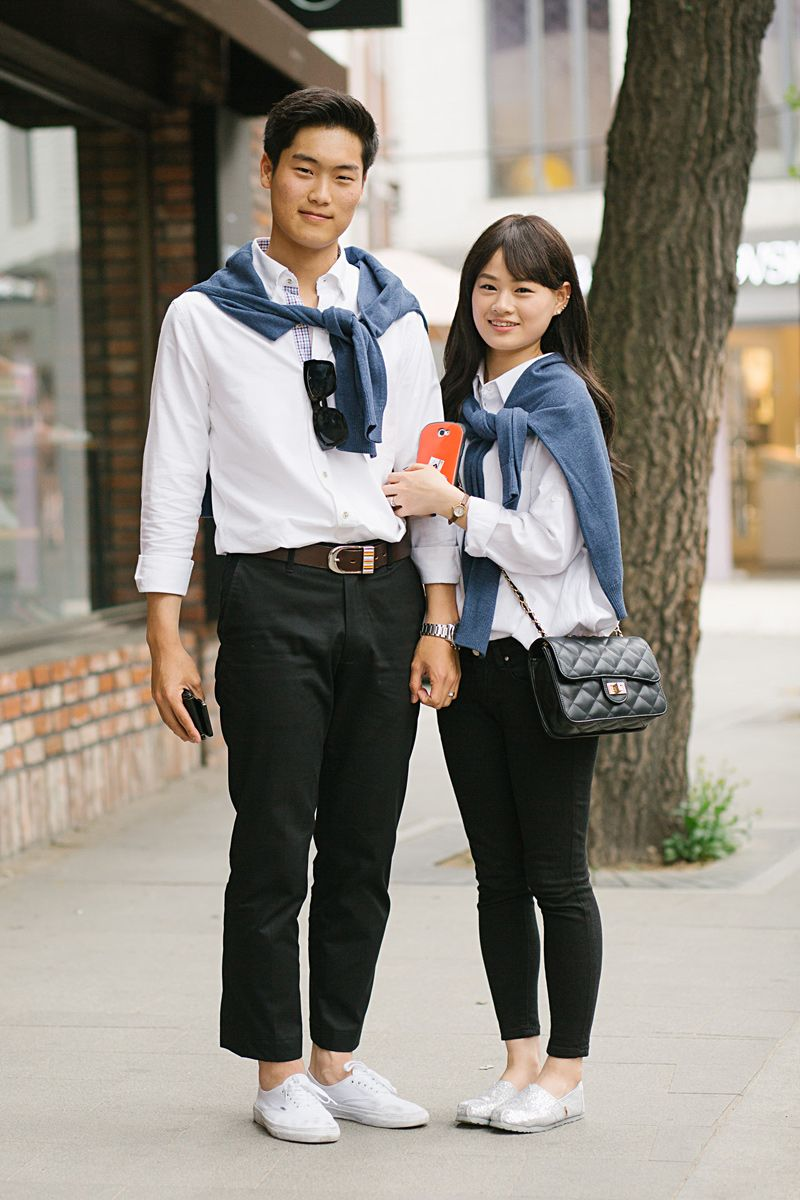 Korean Couple Wear Fashion Inspirations