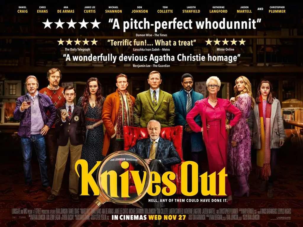 Στα Μαχαίρια (Knives Out) Quad Poster