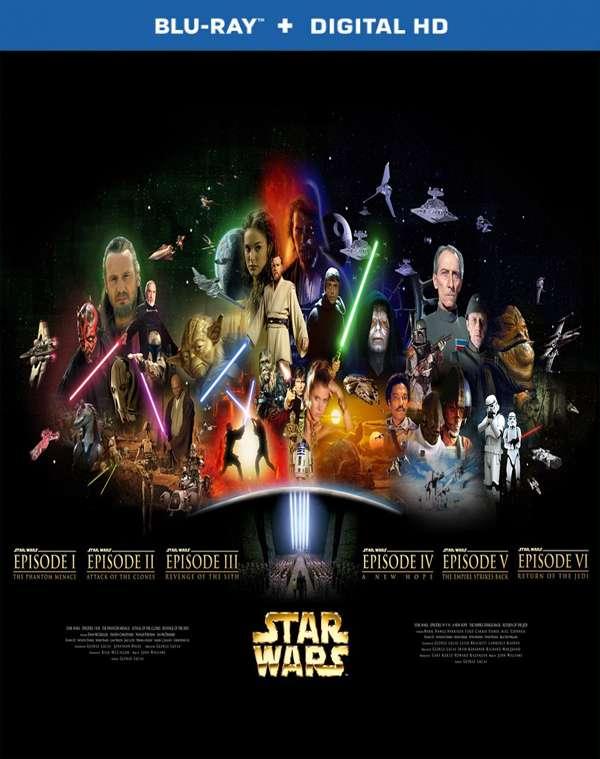 Star Wars The Complete Saga (1977-2005) [REMUX] *Blu-ray
