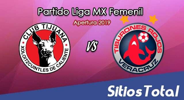 Ver Xolos Tijuana vs Veracruz en Vivo – Liga MX Femenil – Apertura 2019 – Lunes 22 de Julio del 2019
