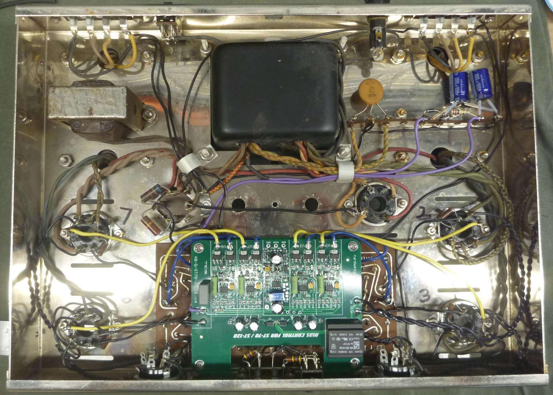 Auto Bias for an original Dynaco ST-70 | Audiokarma Home