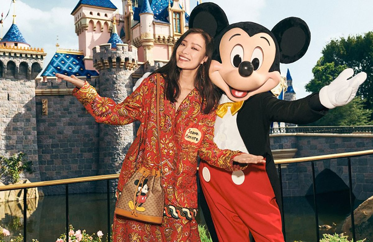 Disney X Gucci Mickey Mouse Chinese New Year 2020 Collection