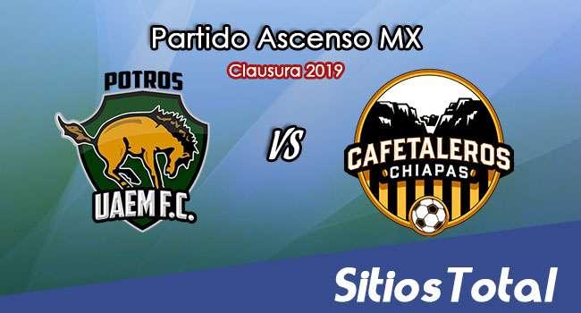 Ver Potros UAEM vs Cafetaleros de Chiapas en Vivo – Ascenso MX en su Torneo de Apertura 2019