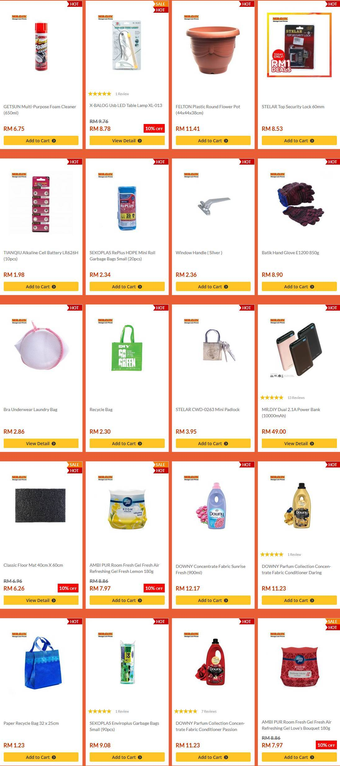 Mr DIY Catalogue (21 July 2019 - 31 July 2019)