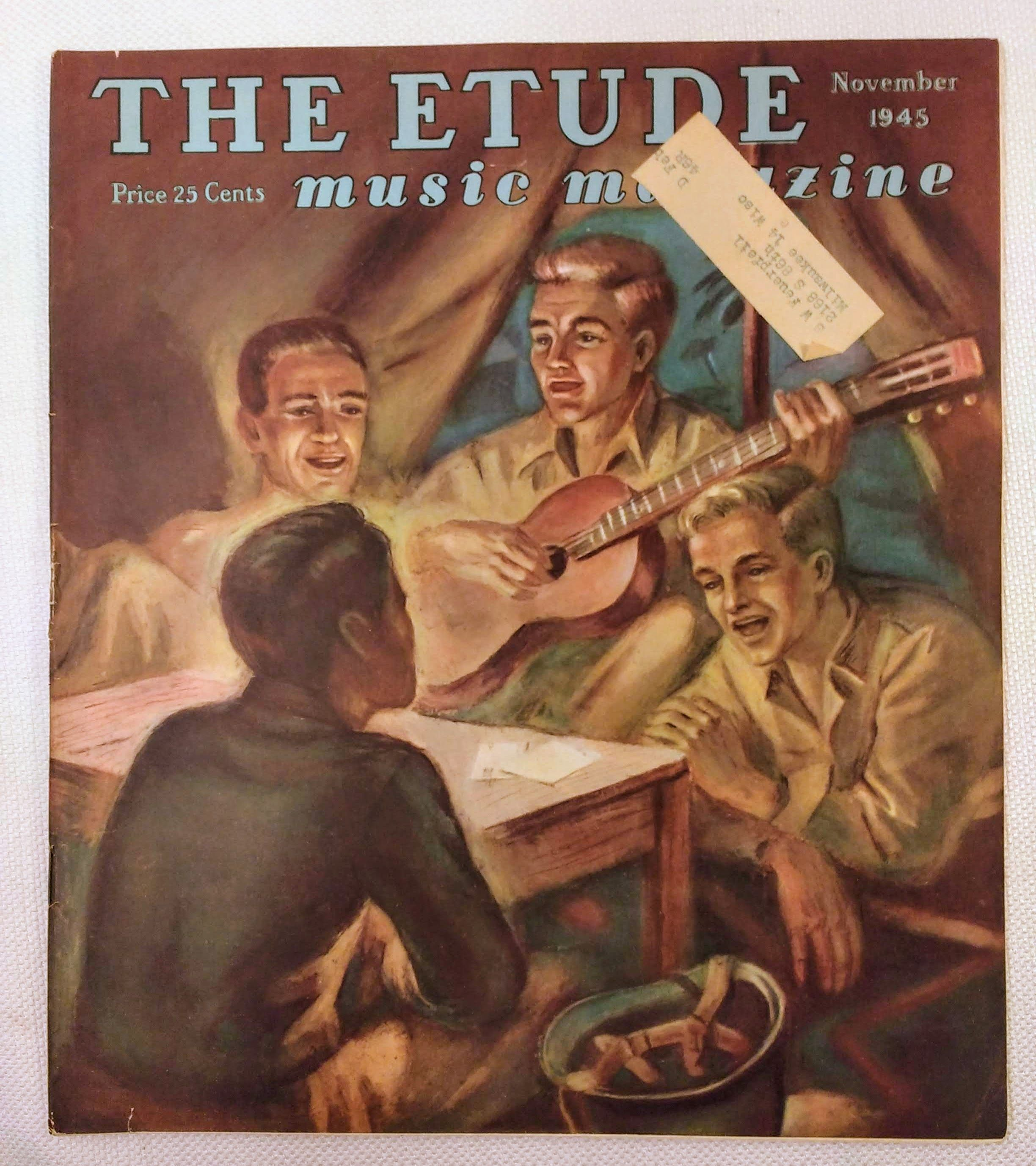 Image for The Etude Music Magazine: Volume LXIII, No. 11; November, 1945