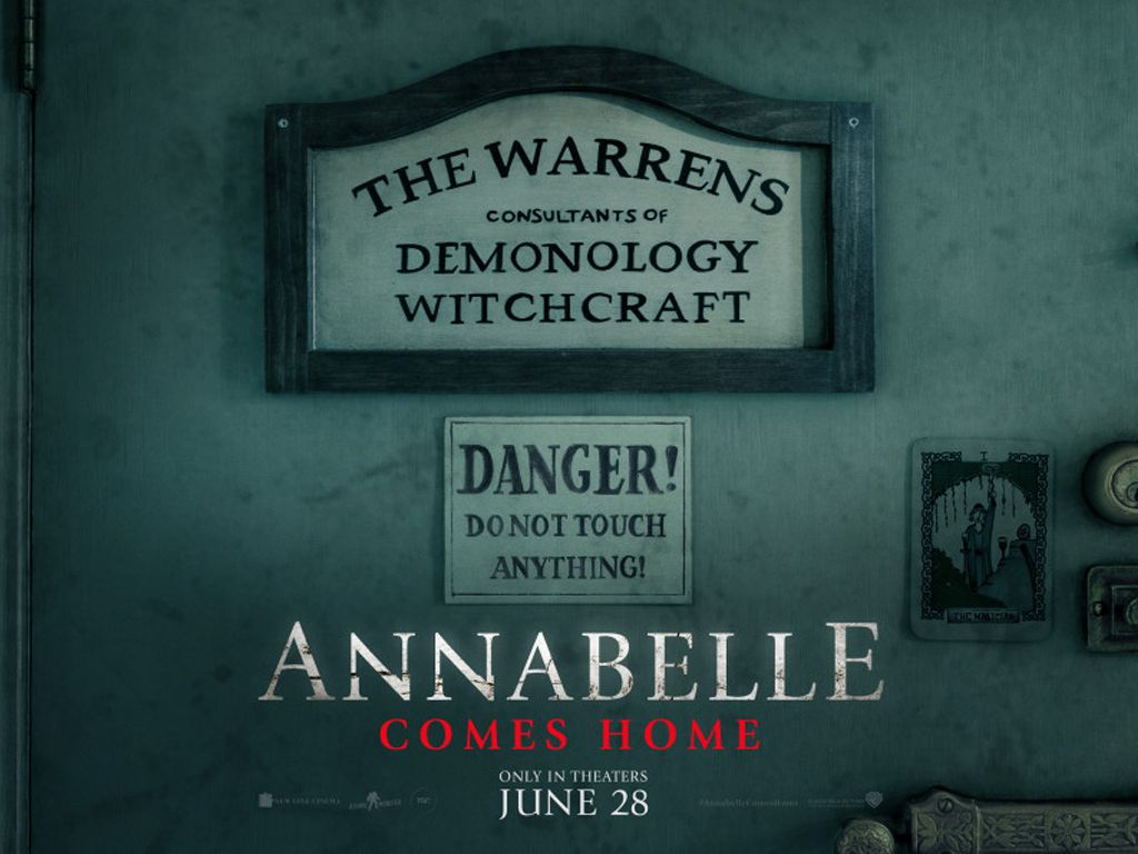 Annabelle Comes Home Quad Poster Πόστερ