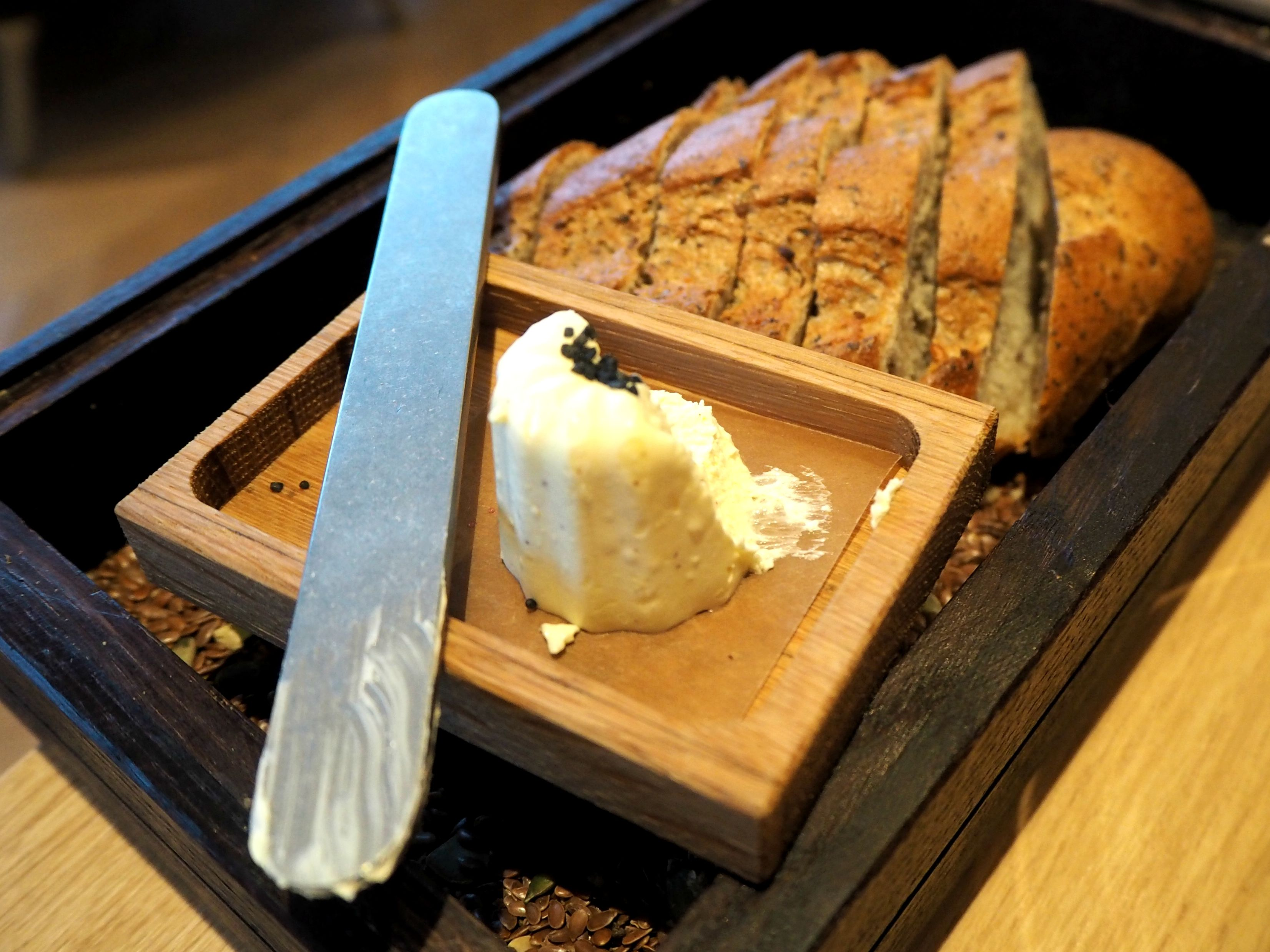 Viking 'Mjød' bread at FireLake Stavanger