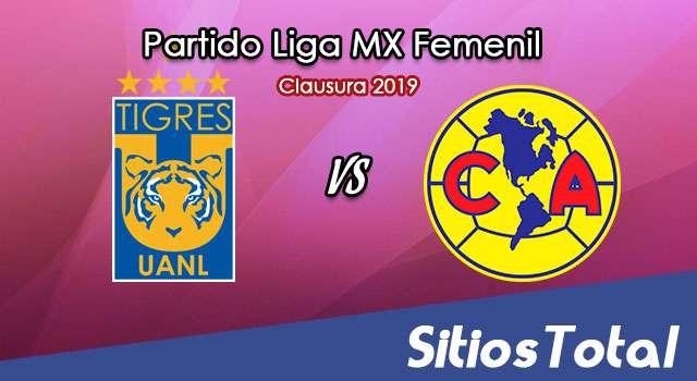 Ver Tigres vs América en Vivo – Semifinal Ida – Liga MX Femenil – Clausura 2019 – Jueves 2 de Mayo del 2019