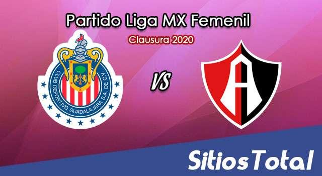Ver Chivas vs Atlas en Vivo – Liga MX Femenil – Clausura 2020 – Lunes 24 de Febrero del 2020