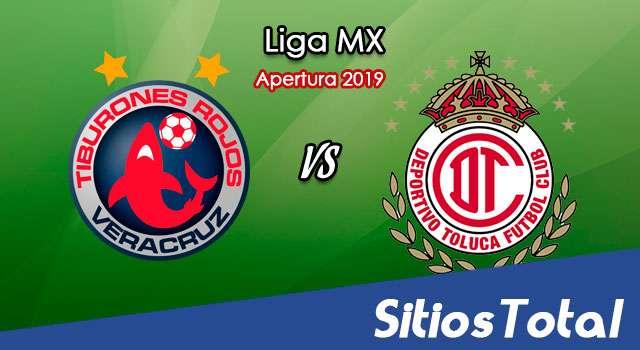Ver Veracruz vs Toluca en Vivo – Apertura 2019 de la Liga MX