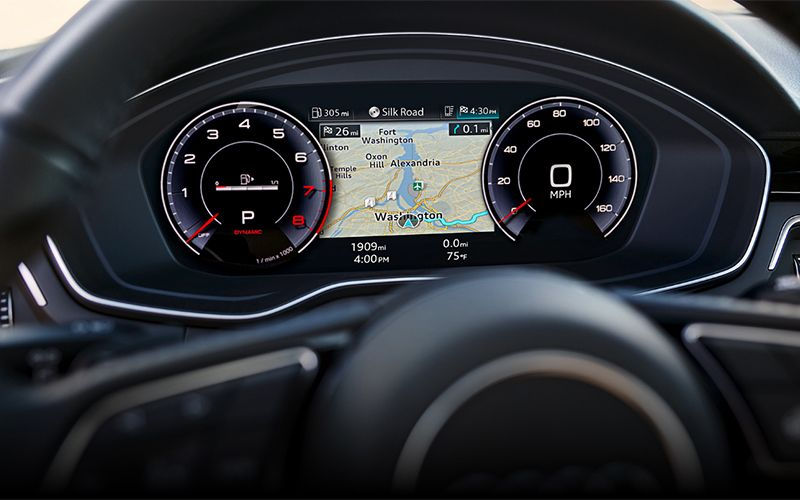 Audi A4 allroad Virtual Cockpit