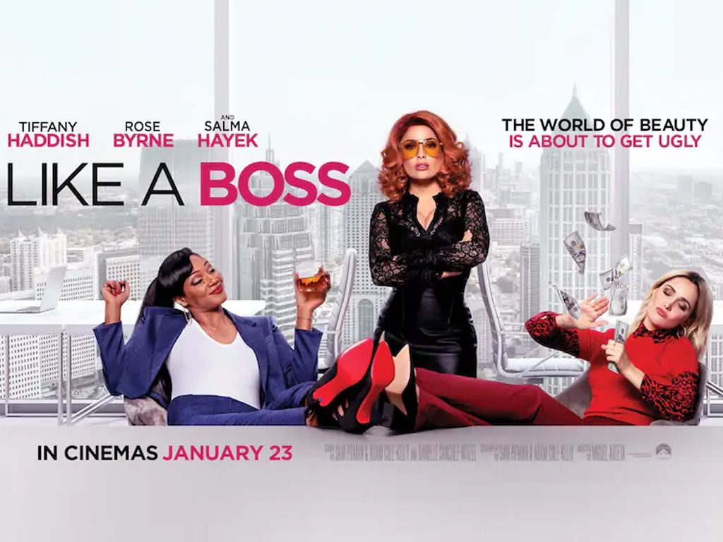 Like A Boss Quad Poster