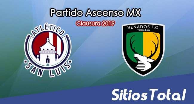 Ver Atlético San Luis vs Venados FC en Vivo – Partido de Vuelta – Semifinal – Ascenso MX en su Torneo de Clausura 2019